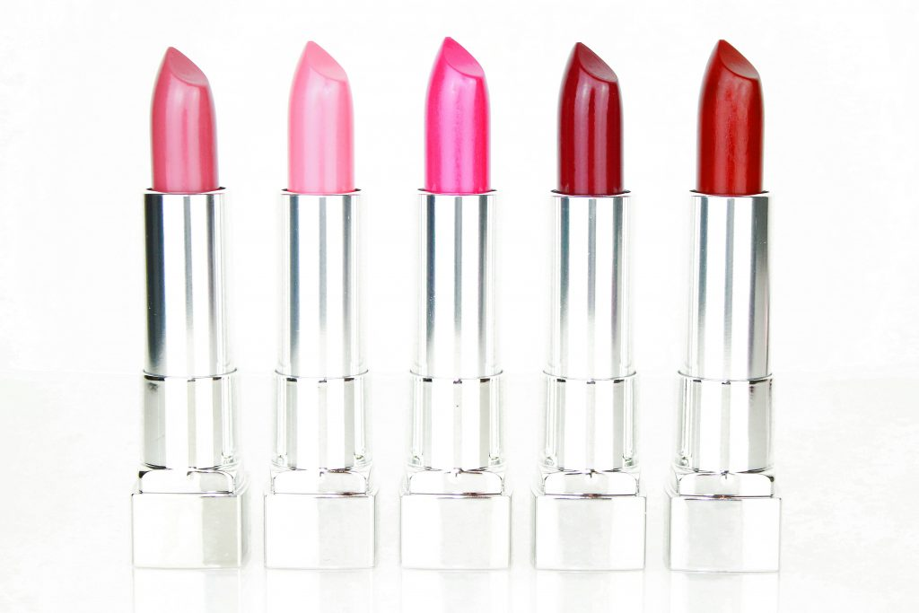Maybelline Color Sensational The Creams Lippenstifte - Rose Embrace, Pink Rose, Pink Thrill, Berry Go, Plum Rule