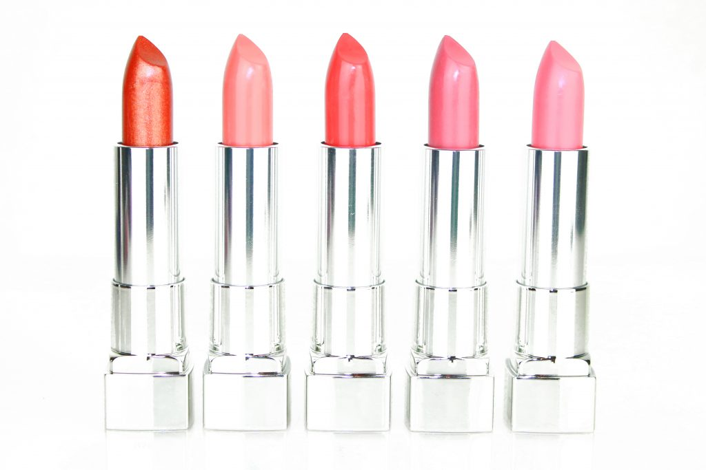 Maybelline Color Sensational The Creams Lippenstifte - Copper Charge, Bare Reveal, Almond Hustle, Rosey Risk, Flush Punch